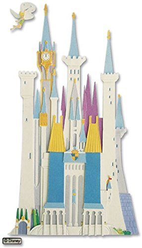 Nceonshop(TM) Disney Vacation Dimensional Sticker Disney Castle (Disney Castle Dimensional Stickers)