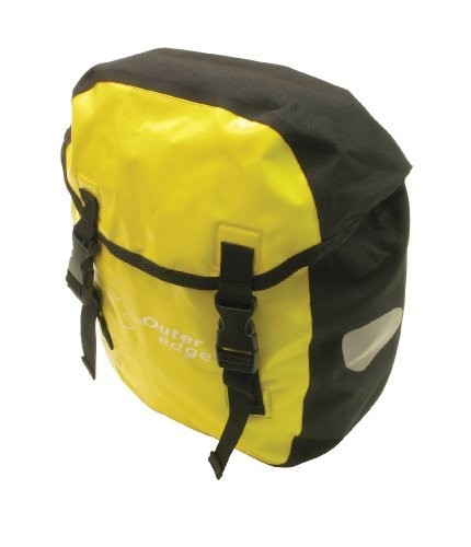 Outeredge Cycling Bag - Yellow (16 Litre) by Outeredge