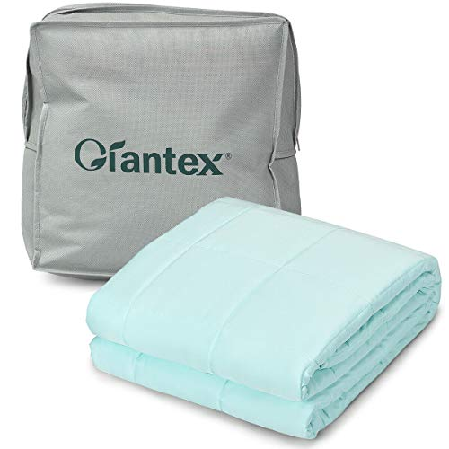 Cheap Giantex Premium Cooling Weighted Blanket Smaller Pockets 48