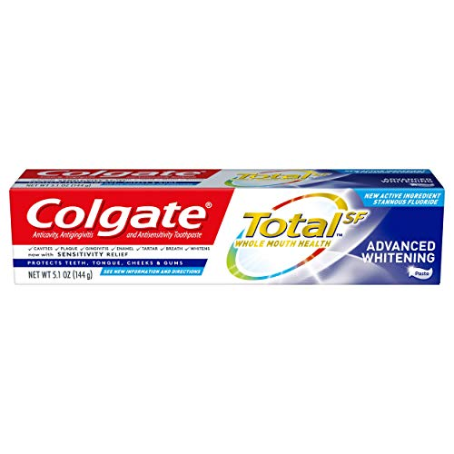 Colgate Total Advanced Whitening Toothpaste, 5.1 Ounce (Colgate Total Advanced Whitening)