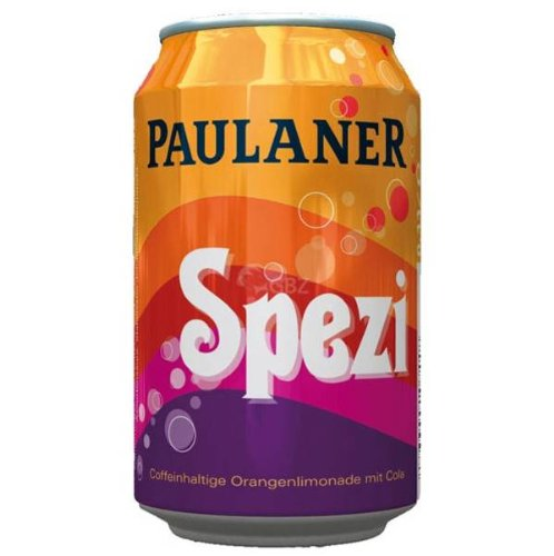 Paulaner Spezi (Cola & Orange Soda) - 0.33l