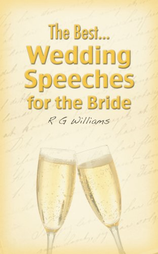THE BEST WEDDING SPEECHES FOR THE BRIDE (Best Wedding Speeches Bride)