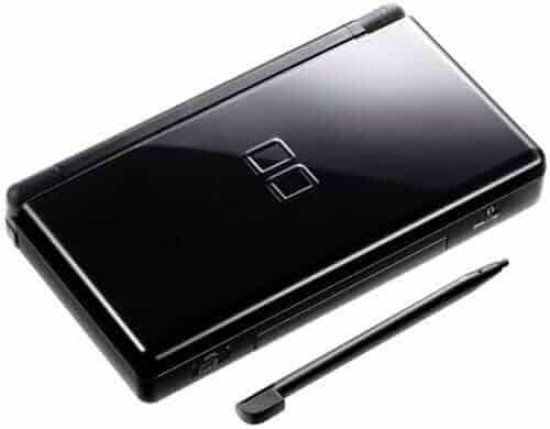Nintendo DS Lite Consle with Top Spin 2 Bundle - Onyx Black (Renewed)