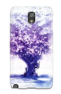 Case Cover Purple Tree/ Fashionable Case For Galaxy Note 3 Customize PIX1 Phone
