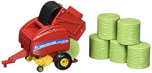 Ertl New Holland Roll Belt 560 Round Baler Vehicle (1:64 Scale)