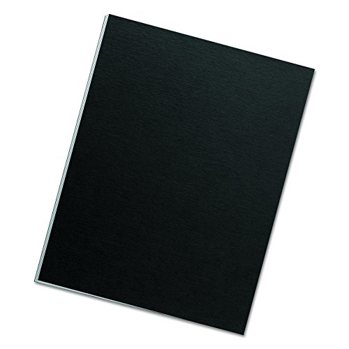 Fellowes Binding Presentation Covers, Letter, Black, 25 Pack (5224901) (11x14 Binding Covers)