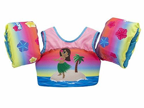 382e8fcb35c Body Glove 13226-ONE-HULAGRL Kids Paddle Pal Hula Girl Learn to Swim Life