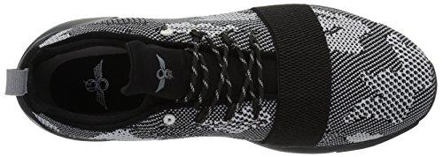 Kreative Rekreative Mænds Ceroni Mode Sneaker Sort Camo 9m4lr0os