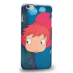 """Case88 Premium Designs Ponyo Protective Snap-on Hard Back Case Cover for Apple iPhone 6 Plus 5.5"""""""