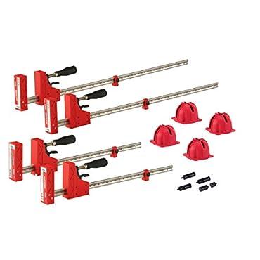 JET 70411 Parallel Clamp Framing Kit 1000lb Pressure 31 / 47 Spread Capacity