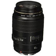 Canon EF 100mm f/2.8 Macro USM Macro Lens Body Only Lenses, Black