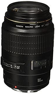 Canon EF 100mm f/2.8 Macro USM Fixed Lens for Canon SLR Cameras (B00004XOM3) | Amazon Products