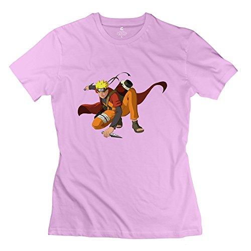 YHYT Women T-shirt Uzumaki Naruto Short Sleeve XXL