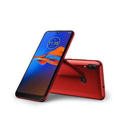 Motorola Moto E6 Plus XT2025-1 32GB Unlocked GSM Dual SIM Phone w/ 13MP Camera - Bright Cherry (Renewed) thumbnail