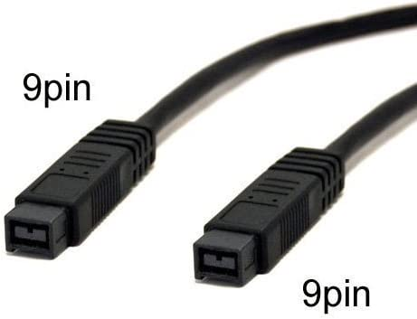 FireWire 800 9pin to 9pin Cables IEEE1394b 15 Feet