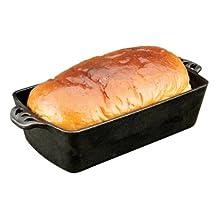 Camp Chef CIBP9 Home Seasoned Cast Iron Bread Pan (Black)