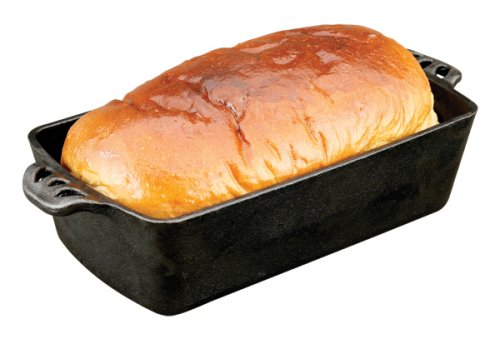 Camp Chef Home Seasoned Cast Iron Bread Pan.