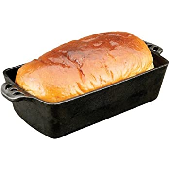 Amazon Com Camp Chef Home Seasoned Cast Iron Bread Pan