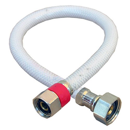 (LASCO 10-2321 Water Supply Flex, Braided Vinyl, 1/2-Inch Female Compression X 1/2-Inch Female Iron Pipe X 20-Inch)