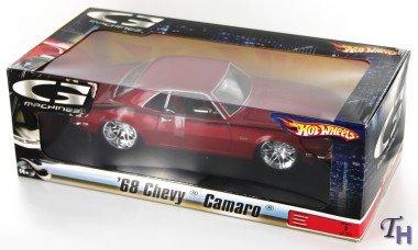 Hot Wheels G-Machines 1:18 1968 Chevy Camaro (Red)