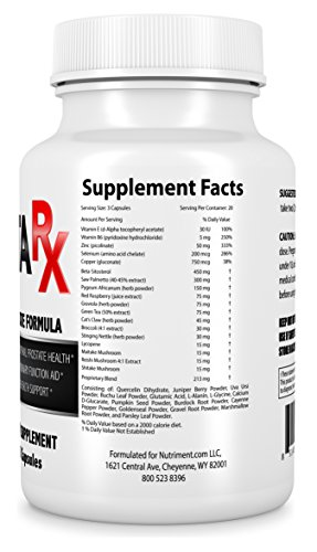 Prosta Rx Prostate Support Supplement- Proven Prostate Formula for a Healthy Prostate- Men with Enlarged Prostate Stop Frequent Urination and Increase Sexual Health- A Must for Men Over 40
