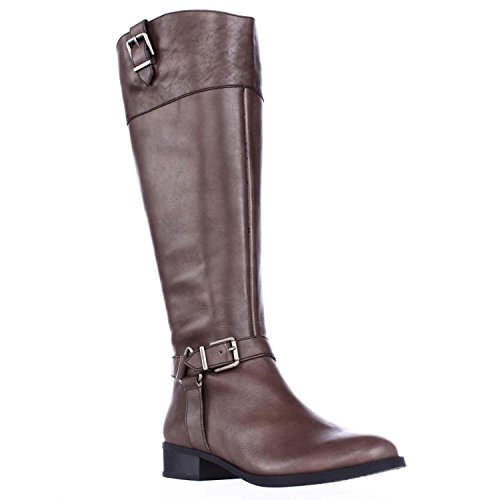 INC International Concepts Womens Fedee Leather Closed Toe, Cement, Size 9.0 from INC International Concepts