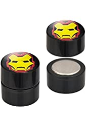 Marvel Comics Iron Man Magnetic Faux Plug Tapers