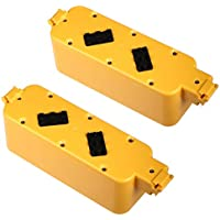 Powerextra 2-pack 14.4v 3800mAh Ni-MH Extended Battery for iRobot Roomba APC 400 4905 4000 Series