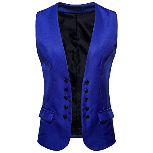 Mens Autumn Winter Casual Pocket Beston Droit Waistcoat Vest Jacket Top Coat