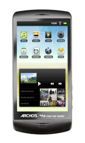 Archos 43 4.3-Inch 16 GB Internet Tablet with Android