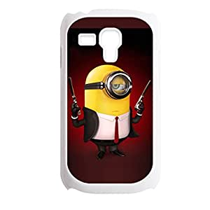 Generic Clear Back Phone Cover For Teens Printing Despicable Me Minions For Samsung Galaxy S3 Mini Choose Design 10