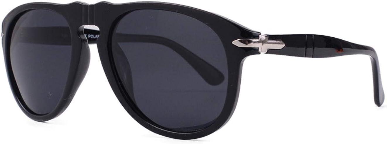 PAMIX Polarized Sunglasses for Men Women Aviator Round UV Protection Trendy Fashion Blenders Shady Rays Retro Designer