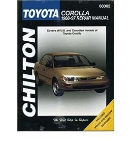 toyota corolla 1990 97 author chilton automotive books rh amazon co uk