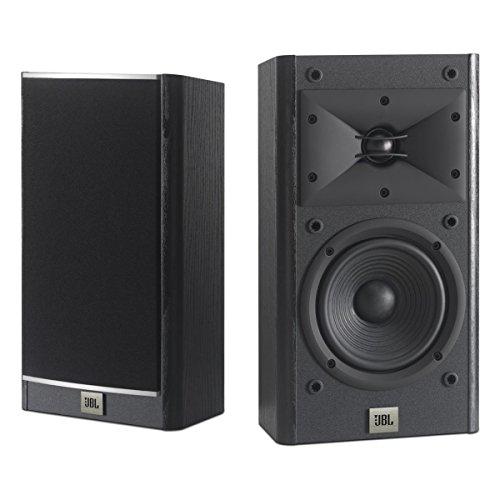 JBL Arena 120 Black 2-Way 5.5-Inch Wall-mountable Bookshelf Loudspeakers (Black)