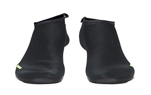 WETSOX Fully Reinforced Fin Socks, 1mm Neoprene Core, Raised Poly Laminate Exterior, Flat Lock Seams