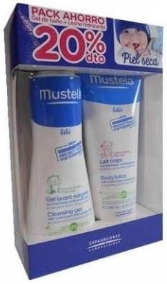 Mustela Gel Lavante 300ml + Leche corporal 200ml Pack Ahorro: Amazon.es: Belleza