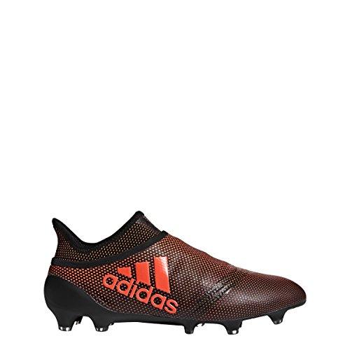 Adidas X 17+ Purespeed Fg Klamp Menns Fotball Svart, Solenergi Rød, Solar Orange