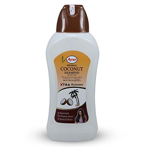 Ayur Herbal Coconut Shampoo, For Dry Hair, Xtra Richness 500