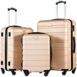 Best Lightweight Suitcases - COOLIFE Luggage 3 Piece Set Suitcase Spinner Hardshell Review