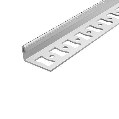 Ángulo de perfil de remate Aspro, 10 mm, de acero inoxidable ...