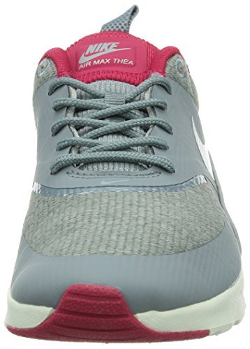 Nike Kvinders Wmns Air Max Thea Print, Safari-ulv Grå / Anthrct-rød Violet-hvide, 11,5 M Os