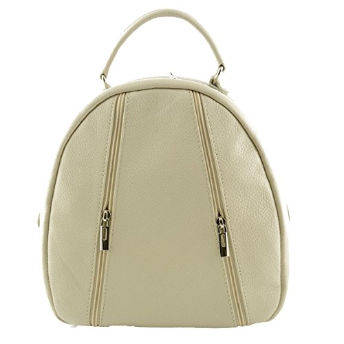 Leather Artificial Italy Bags Fur Dream Beige Leather In Bag Leather Made For Italy Real Genuine Women Throws Backpack In Back BYqwOCq