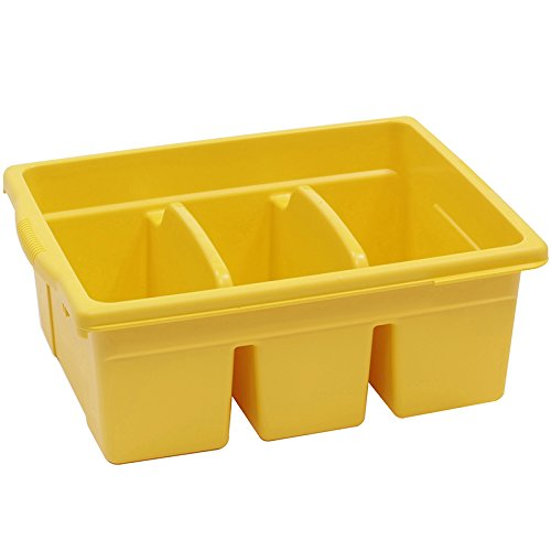 Royal Divided Tub Color: Yellow
