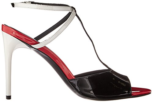 Plat White Calvin Sandal Black Women's Sarita Dress Klein qap1Z