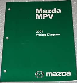 2001 mazda mpv wiring diagrams mazda amazon com books rh amazon com mazda mpv radio wiring diagram 2002 mazda mpv wiring diagram