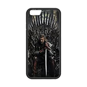 Ned Stark Game Of Thrones Movie iPhone 6 4.7 Inch Cell Phone Case Black yyfabc-524746