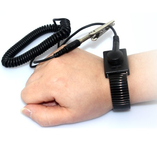 Zitrades Anti Static Wrist Strap Band Grounding, Black