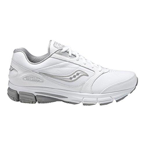 Saucony Women's Echelon LE2 Walking Shoe,White/Silver,5.5...