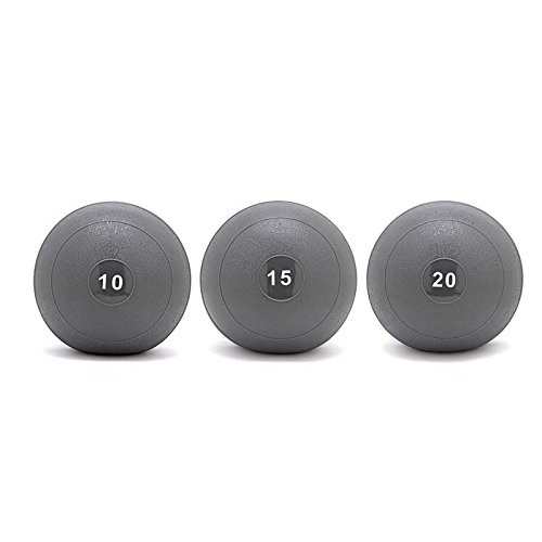 Slam Ball or Dball Set 10/15/20 Lb / Dead Bounce / Crossfit, Strength, Conditioning Training by OneFitWonder