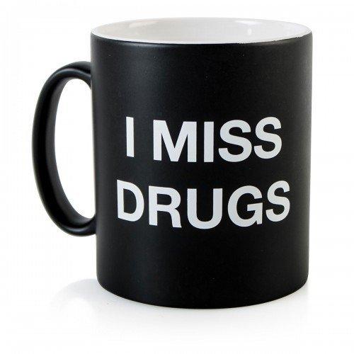 I Miss Drugs Mug by Firebox